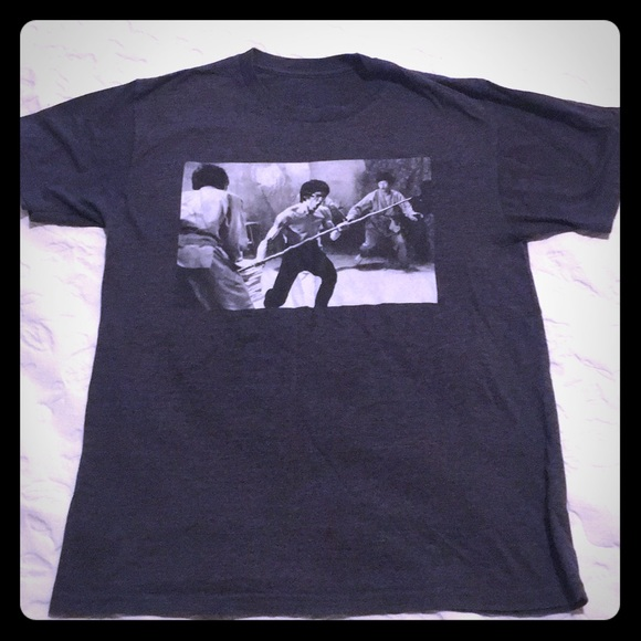 928497fd Bruce Lee Shirts & Tops | Boys T Shirt Large | Poshmark